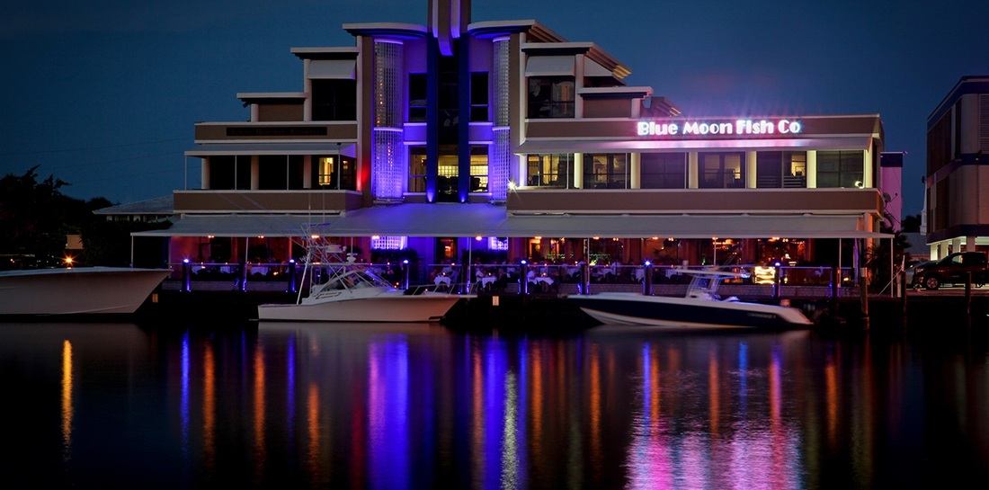 Nightlife and dining realestate gizmo fort lauderdale for Blue moon fish company menu